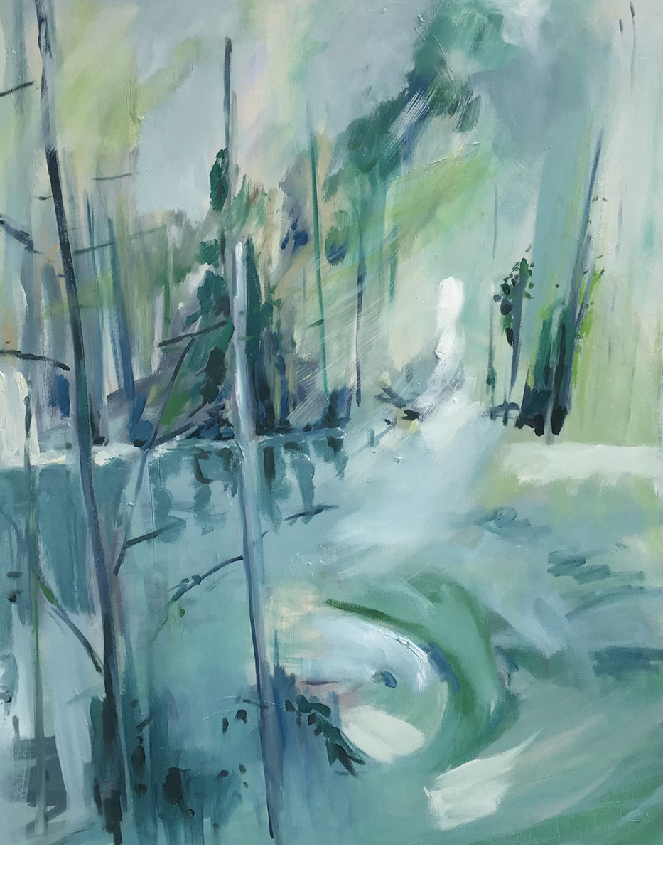 Lesley Finlayson, No 2, oil on canvas, 30 x 24 inches