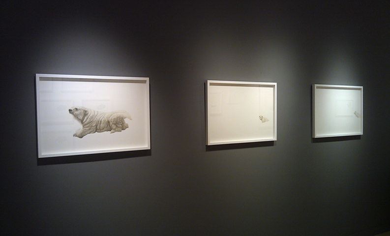 Carrie Walker, watercolour, watercolor, works on paper, nature, contemporary art, drawing, Elissa Cristall Gallery