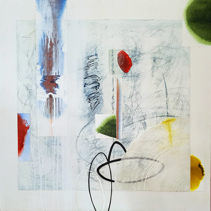 Camrose Ducote, mixed media, abstract art, contemporary art consulting, art gallery, Vancouver, Elissa Cristall Gallery