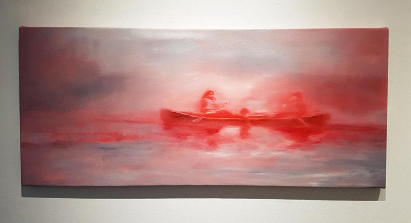 Jeroen Witvliet, Crossing, Elissa Cristall Gallery, Contemporary Art, Vancouver, Canada