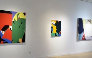 A fine line... painting exhibition, Elissa Cristall Gallery, art gallery Vancouver