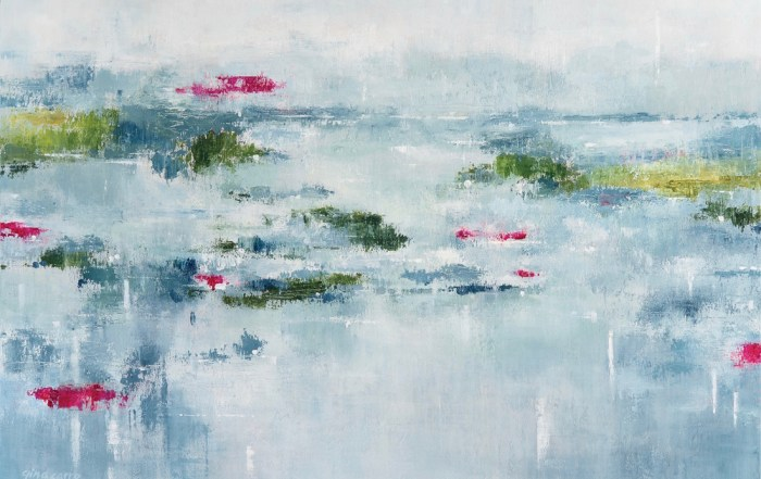 Gina Sarro, Serenity, contemporary landscape, west coast