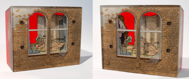 Jessica Korderas resin sculpture