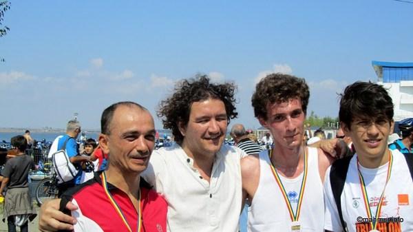 Echipa Sportlocal, imediat dupa terminarea cursei