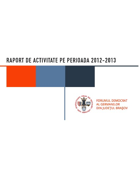 Raport de Activitate  Consilier Local Cristian Macedonschi 2012-2013