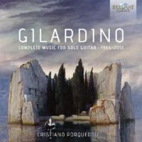 Angelo Gilardino Complete Music for Solo Guitar