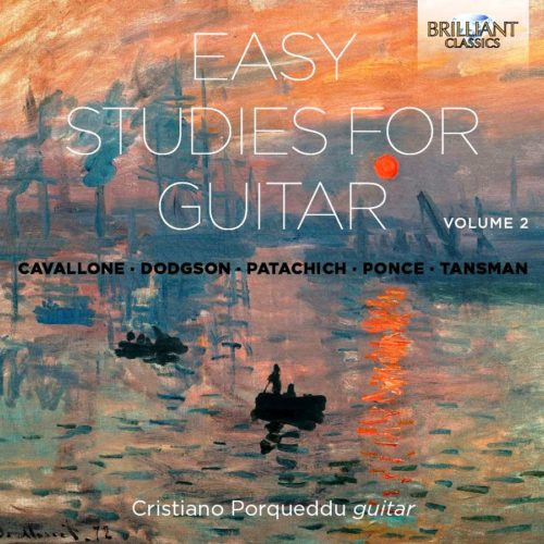 Easy Studies for Guitar Vol2
