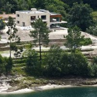 Cristiano Ronaldo Celebrates His New House at Geres, Portugal