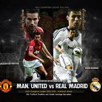 Wallpaper: Manchester United vs Real Madrid!