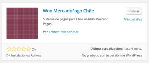 Instalando Mercado Pago Chile