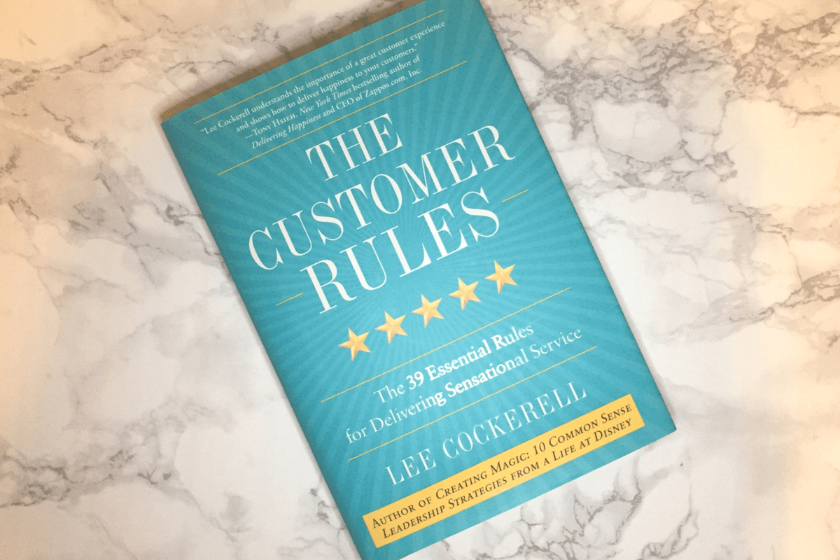 The Customer Rules book cover