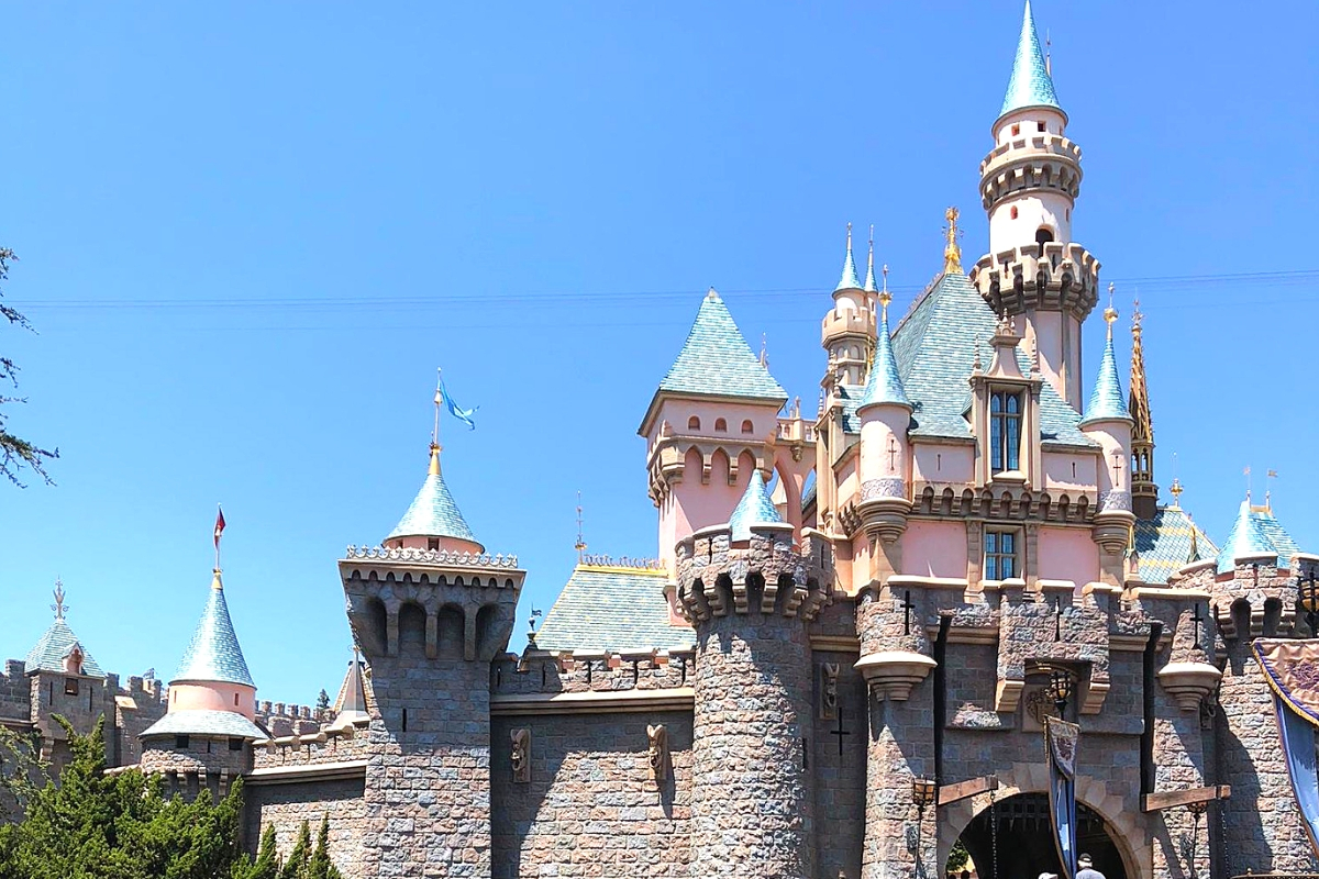 The Original Disney Castle