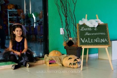 Valentina - Aniversário Infantil - 4 anos - Halloween - 027