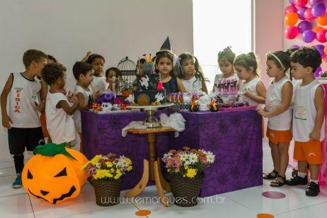 Valentina - Aniversário Infantil - 4 anos - Halloween - 033