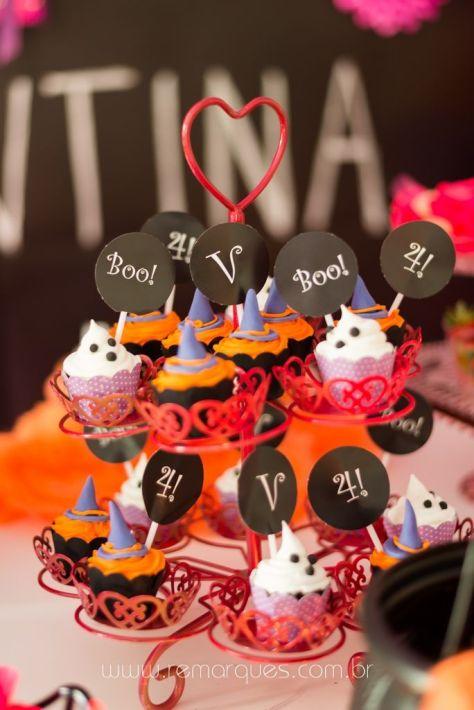 Valentina - Aniversário Infantil - 4 anos - Halloween - 003