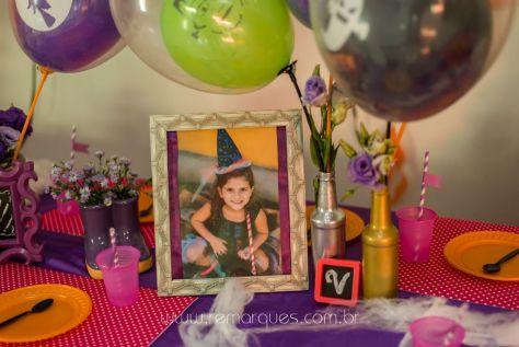 Valentina - Aniversário Infantil - 4 anos - Halloween - 015