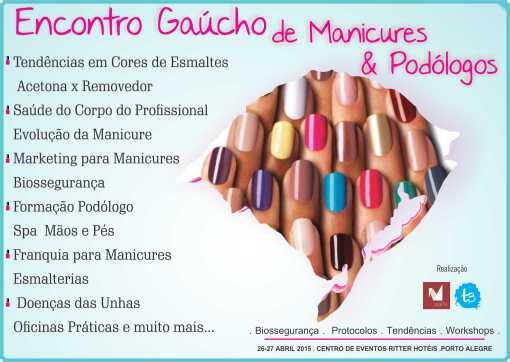 Encontro Gaúcho de Manicures e Podólogos  _ Sorteio Amora