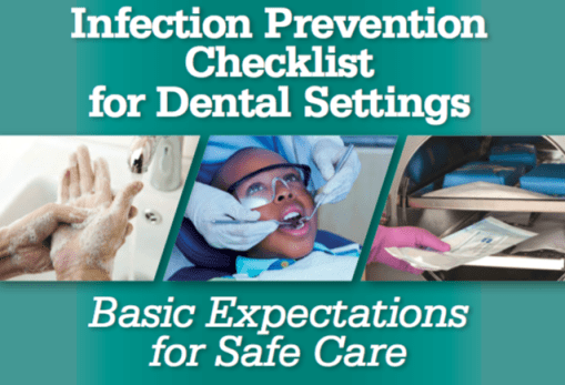 CDC Dental Checklist 2016