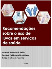 Recomendações sobre o uso de luvas em serviços de saúde