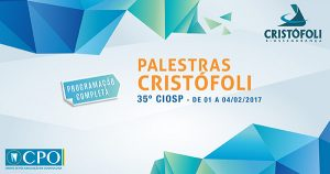 Programação de Palestras Cristófoli CPO 2017