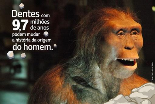 Dentes com 9,7 milhões de anos
