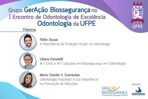 Biossegurança em Odontologia para pacientesem Recife- Palestras Biossegurança