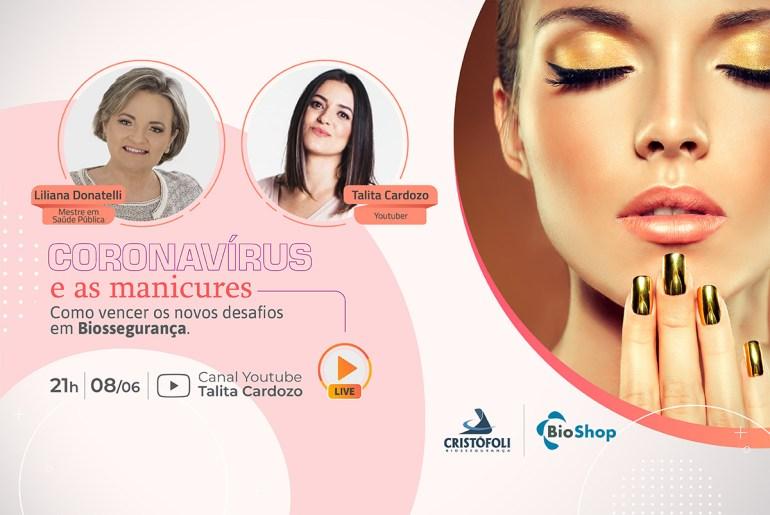 Coronavírus e as manicures: Como vencer os novos desafios em Biossegurança
