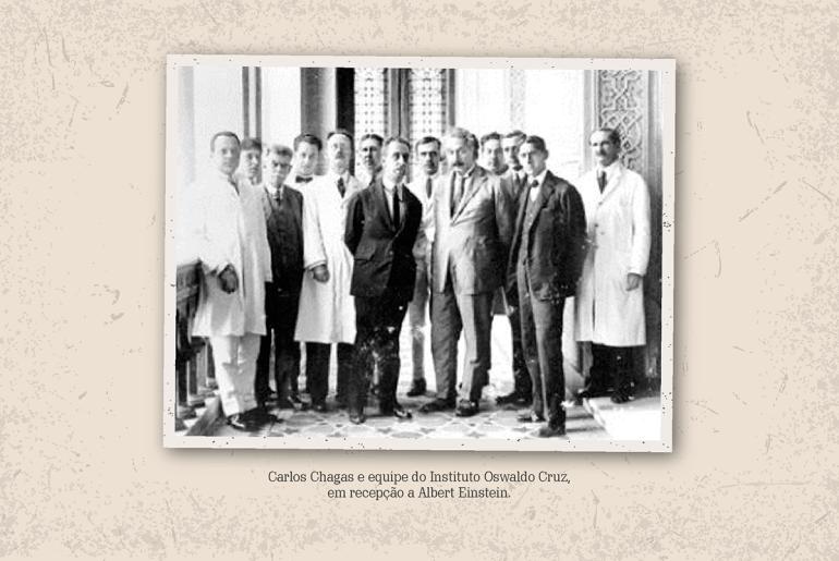 Carlos Chagas e Einstein