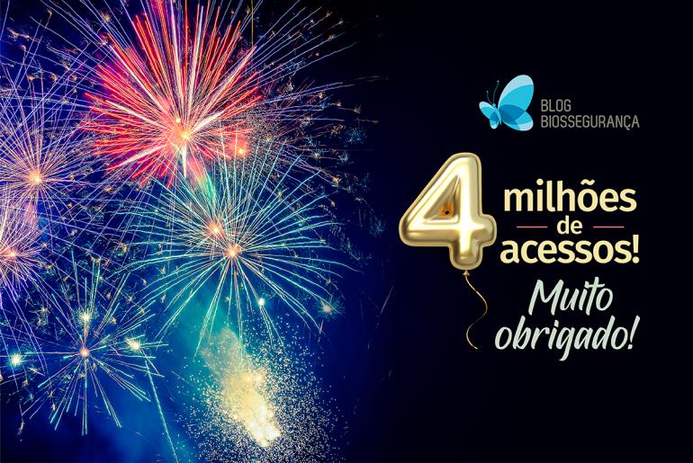 4 milhões de Acessos - Blog Biossegurança