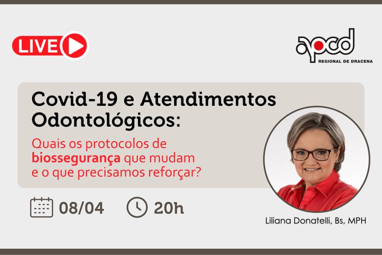Covid-19 e Atendimentos Odontológicos APCD Dracena