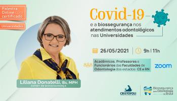 Covid-19 e a biossegurança nos atendimentos odontológicos nas Universidades CE - RN- BOB