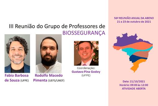 III Reunião do Grupo de Professores de Biossegurança em Odontologia