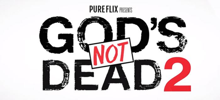 La pelicula «God's Not Dead» (Dios no está muerto) se lanzar[a en Abril del 2016