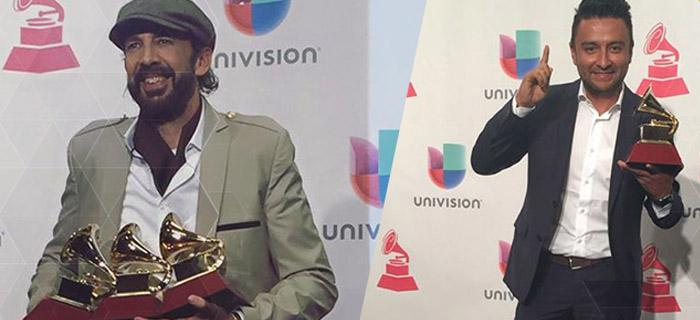 Juan Luis Guerra y Alex Campos los ganadores de los Latin Grammy 2015