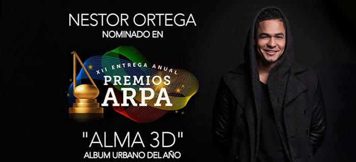 Alma 3D de Néstor Ortega nominado a los premios Arpa 2015