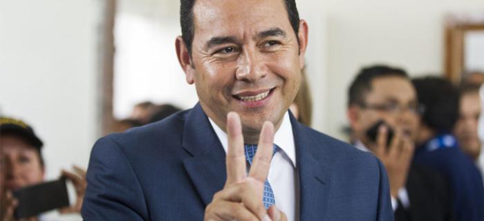 Presidente evangélico promete acabar con la corrupción