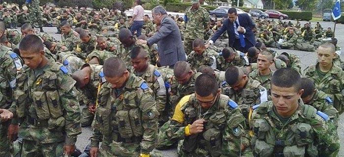 80 Soldados colombianos entregaron sus vidas a Cristo