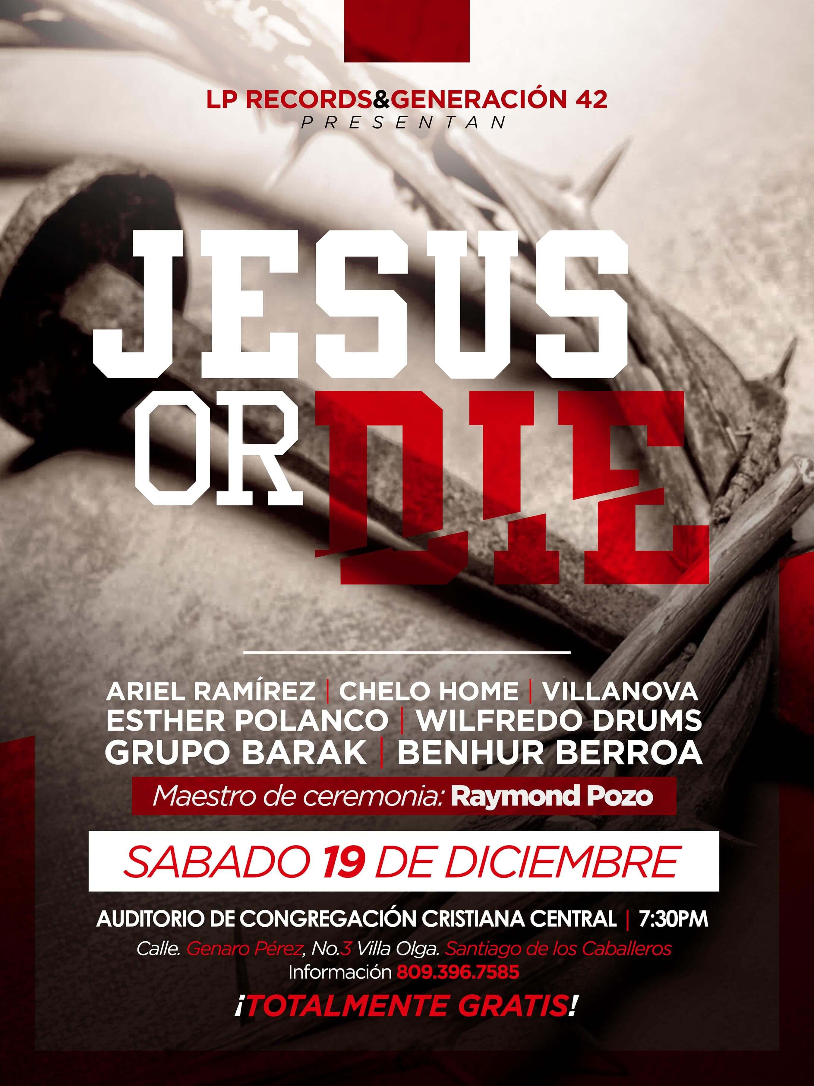 JESUS OR DIE@WEB
