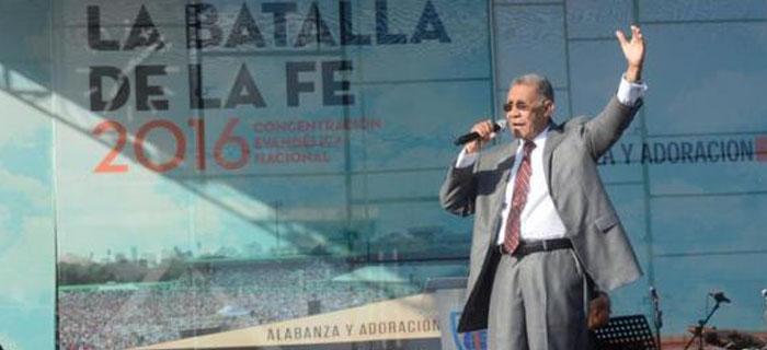 El Pastor Ezequiel Molina habla sobre su discurso en la Batalla De La Fe  (VIDEO)