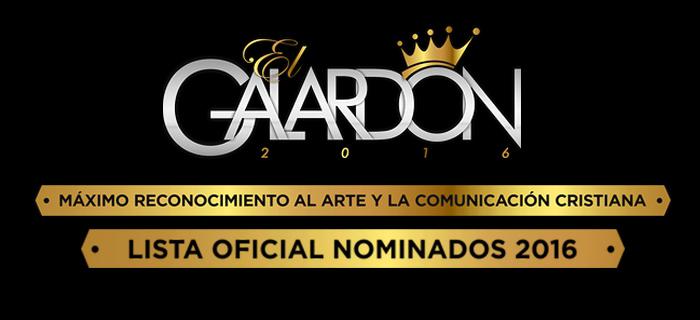 Lista de nominados al Premio Galardón 2016