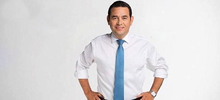 Jimmy Morales pide a Dios sabiduria para poder dirigir Guatemala