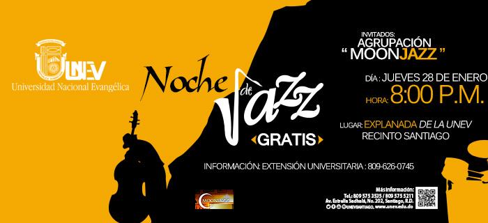 UNEV Santiago presenta Noche de Jazz