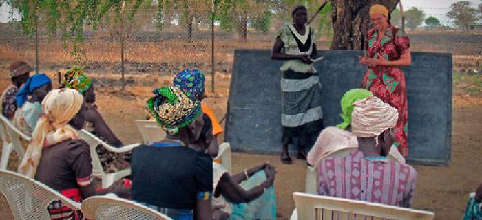 Equipo cristiano proporciona educación y valores a familias al sur de Sudán
