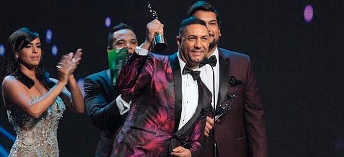 Marcos Yaroide conquista los Premios Soberano 2016