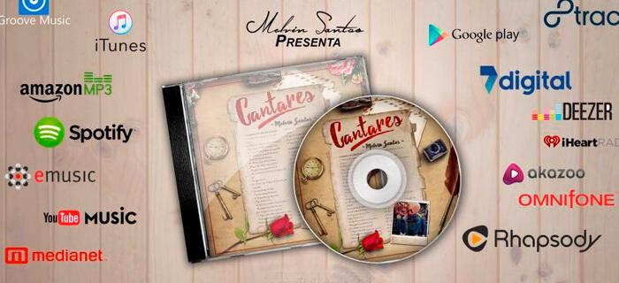 """""""Cantares"""" lo nuevo de Melvin Santos"""