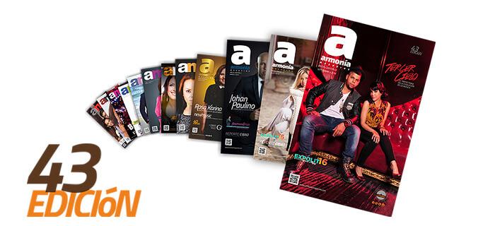 Nueva edición: Armonía Magazine (Edición 43)