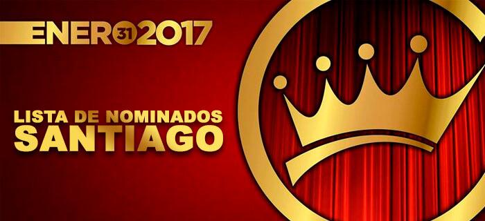 Presentan lista de nominados de Santiago a los Premios Galardón 2017