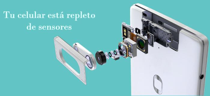 Tu celular está repleto de sensores