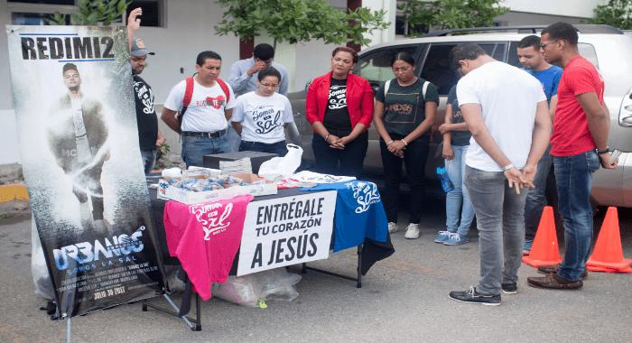 Fotos: La UNEV será Salada (Evangelismo Creativo)