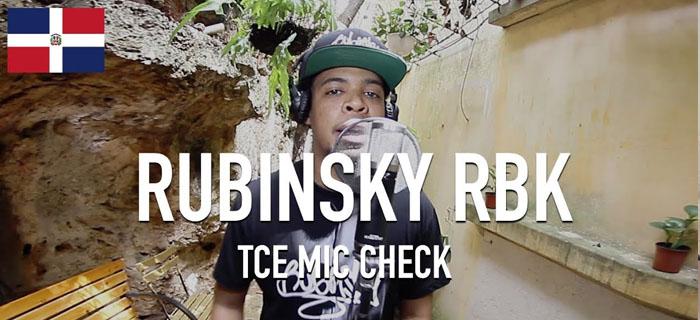 Rubinsky RBK – Untitled [ TCE Mic Check ]